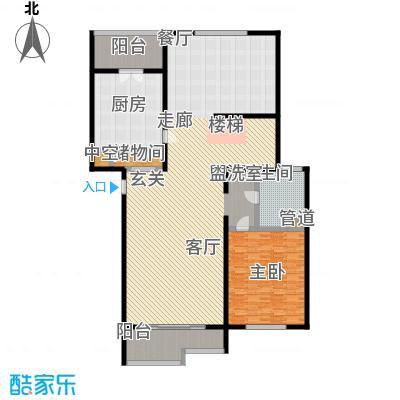 江南御府(华夏茗苑二期)212.00㎡B5-3-三层平面图户型