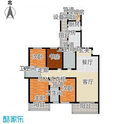 东鼎名人府邸235.00㎡A2户型