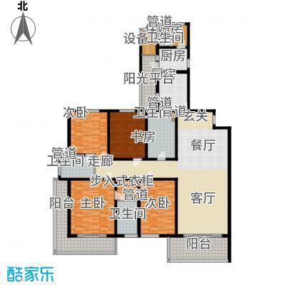 东鼎名人府邸246.00㎡A1户型