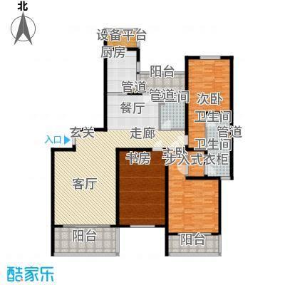 东鼎名人府邸187.00㎡C户型