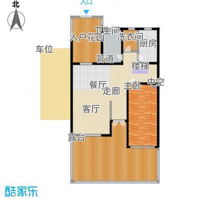 江南御府(华夏茗苑二期)212.00㎡C3-1-一层平面图户型