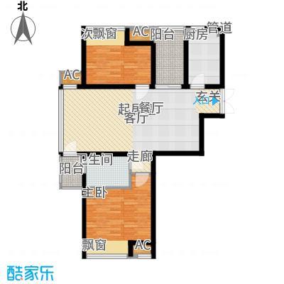 新浦江城89.00㎡上海面积8900m户型