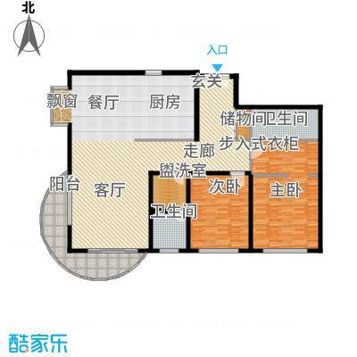 财富海景花园174.87㎡上海面积17487m户型