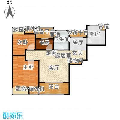 万源城尚郡90.00㎡时尚户型