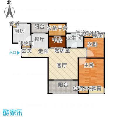 万源城尚郡88.00㎡臻品户型