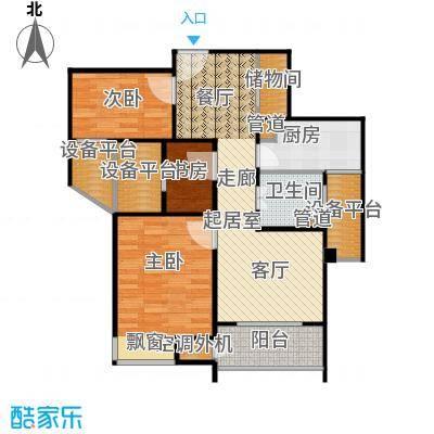 万源城尚郡88.00㎡韵味户型