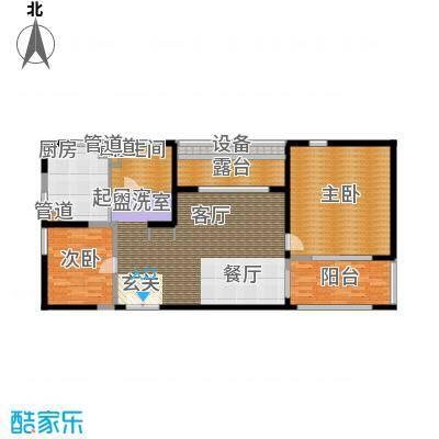 地杰国际城85.00㎡上海面积8500m户型