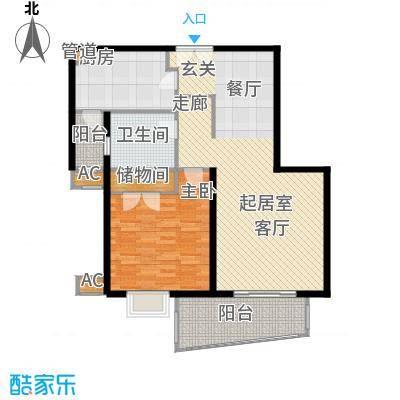 淡水湾花园上海2号楼C型户型