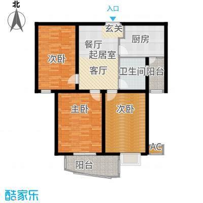 淡水湾花园上海2号楼0户型