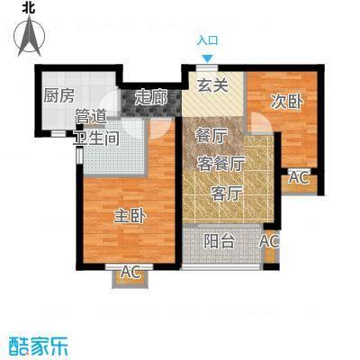 圣鑫苑上海康桥景庭(三期)户户型