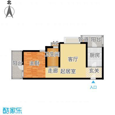 远中风华园76.27㎡5号楼面积7627m户型