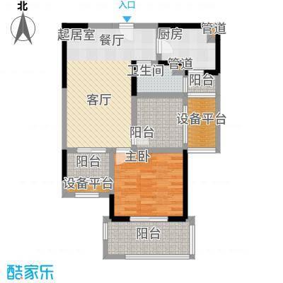 常发香城湾78.00㎡D户型