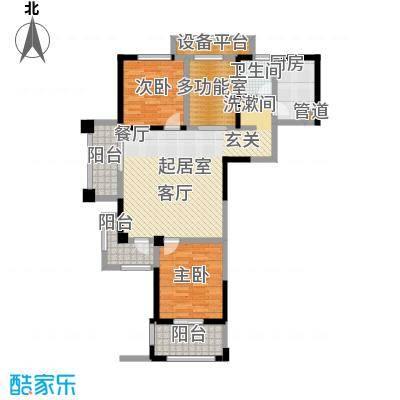 常发香城湾104.36㎡C户型