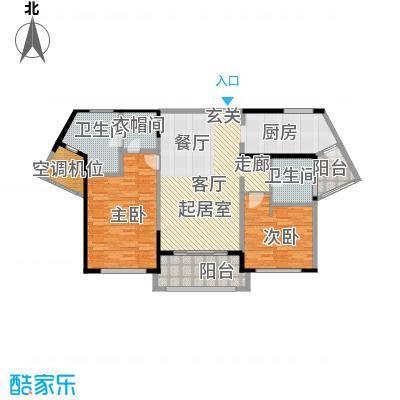 浦江海景122.00㎡B户型