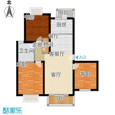 绿地南桥新苑105.00㎡上海D型面积10500m户型