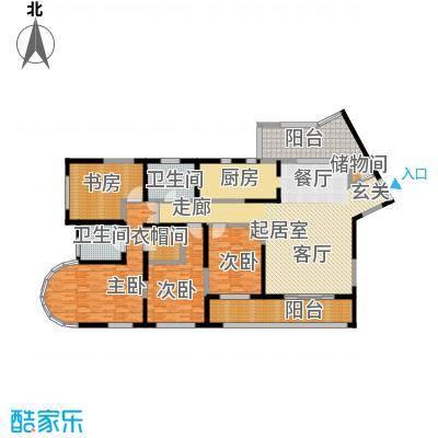 浦江海景213.00㎡A户型