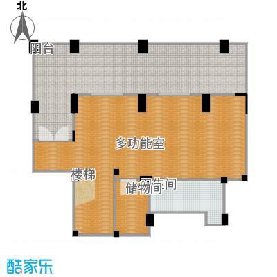 浦发御园136.00㎡8#G3东边户地下层户型
