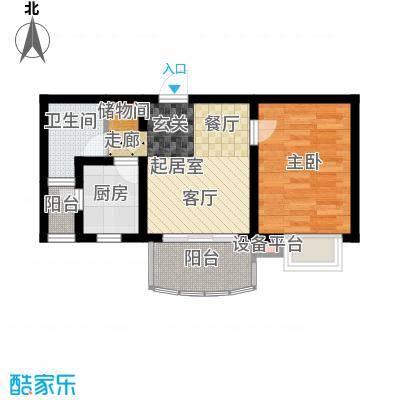 大上海国际花园45.00㎡上海面积4500m户型