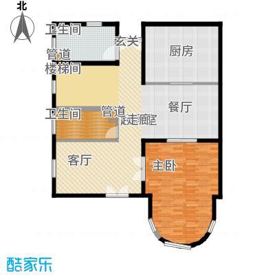 上海捷克住宅小区253.28㎡B一层户型