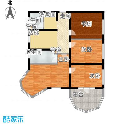 上海捷克住宅小区253.28㎡B二层户型