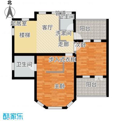上海捷克住宅小区176.99㎡A二层户型