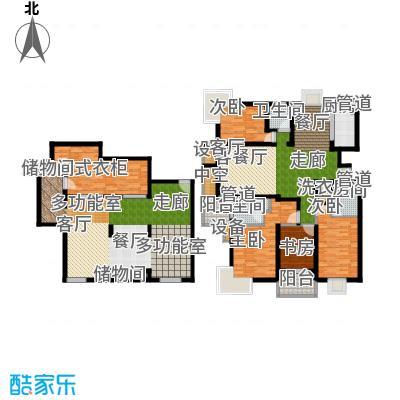 马陆清水湾公寓200.00㎡户型