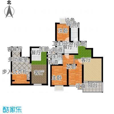 马陆清水湾公寓142.00㎡户型