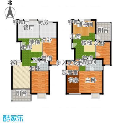 马陆清水湾公寓247.00㎡户型