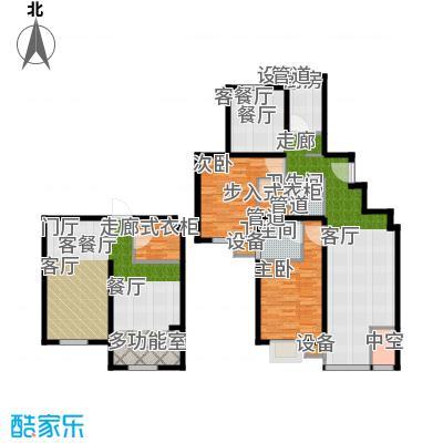 马陆清水湾公寓135.00㎡户型
