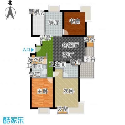 马陆清水湾公寓144.00㎡户型