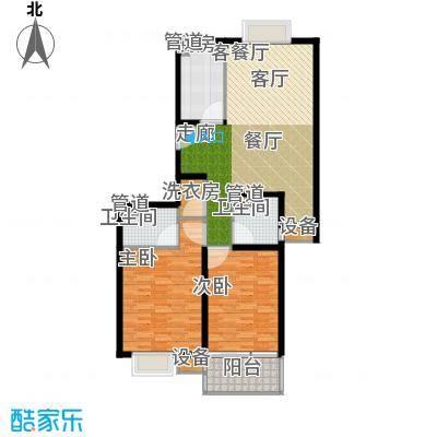 马陆清水湾公寓113.00㎡户型