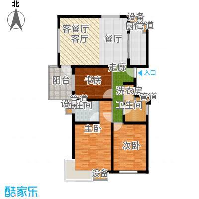 马陆清水湾公寓138.00㎡户型