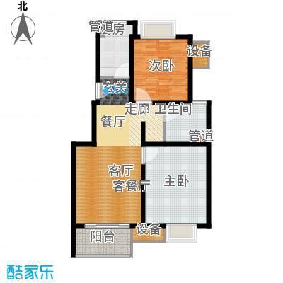 马陆清水湾公寓84.00㎡户型