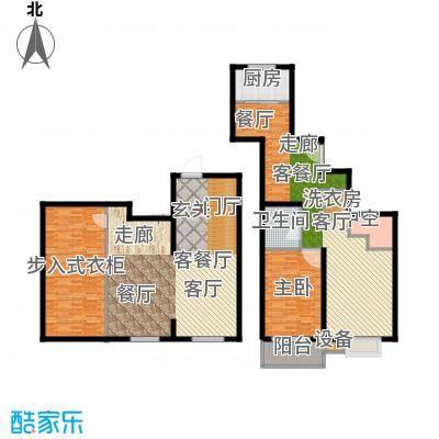 马陆清水湾公寓88.00㎡户型