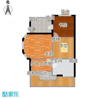 金球怡云花园玫瑰里247.00㎡B2三层户型