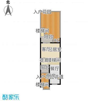 三利宅院福邸280.00㎡G型二层面积28000m户型