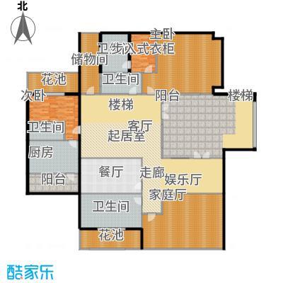 紫都上海晶园380.00㎡C2地下室户型