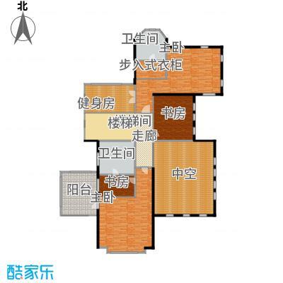 紫都上海晶园300.00㎡D4二层户型