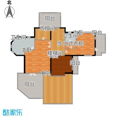 紫都上海晶园320.00㎡B3二层户型