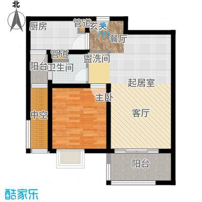 东渡青筑68.00㎡二期K户型