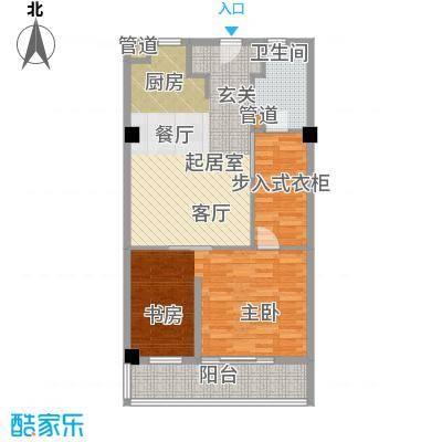 东渡青筑78.00㎡青公馆D户型