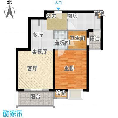 东渡青筑68.00㎡二期N户型