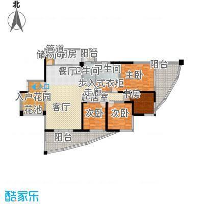 盛南领地190.11㎡A1型面积19011m户型