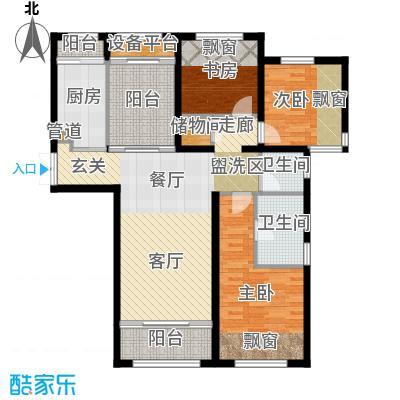 智富名品城一期中环名品公馆111.00㎡C户型