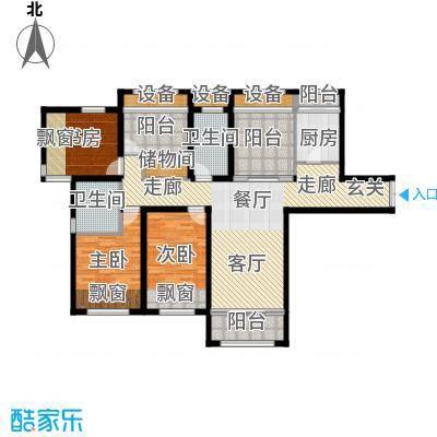 智富名品城一期中环名品公馆139.00㎡B户型