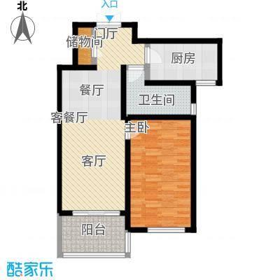 尚海湾豪庭70.00㎡户型