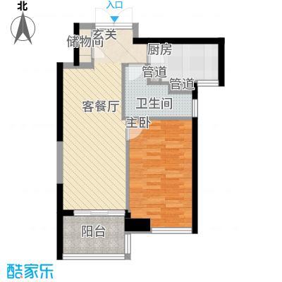 尚海湾豪庭68.00㎡户型