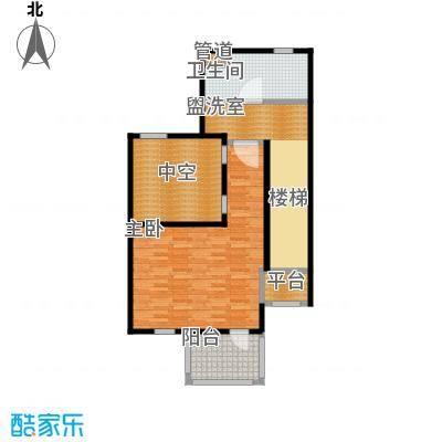 达安御廷别墅90.00㎡C2三层户型
