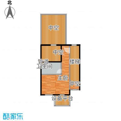 达安御廷别墅90.00㎡C1三层户型