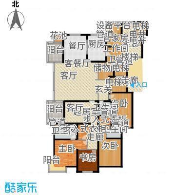 大华清水湾花园三期华府樟园360.00㎡A户型